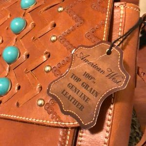 American West Western Crossbody Purse